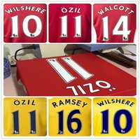 Wholesale 13 Ozil Soccer Jerseys Ramsey Soccer Jersey Best Quality Soccer Jersey Jerseys Cheaper Discount Football Jersey