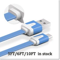 android description - Micro USB Flat Noodle Cable Charger Data usb Cables for Samsung HTC for all Android Phones Read Description and with DHL FREE