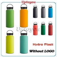 Wholesale Hydro Flask Water vacuum Bottles food SS Double Wall Stainless Steel Tumbler Cups ozl cold insulation keep warm outdoor VS oz oz