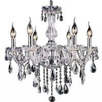 Wholesale 2015 Cheap Crystal Chandelier moroccan decor lustres e pendentes de cristal Clear Chandelier Crystal