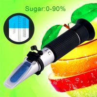 atc brix refractometer - Hand Held Fruit Juice Wine Sugar Test Brix Wort Refractometer W ATC Brand New