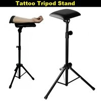 Wholesale Hot Sales Bracket Armrest Stand Adjustable Height Holder Tattoo Tripod Machine Supplies Accesories With Sponge Fashion