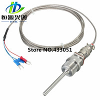 analog units - New Electric Unit High quality RTD PT100 Temperature Sensors Inch NPT Threads With Detachable Connector Useful Tool Tools