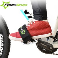 Wholesale ROCKBROS New Bicycle Pedals Straps Mountain Road Bike MTB Pedal Cycling Anti Slip Nylon Bicycle Accessories K6069