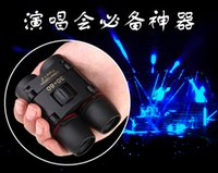 Wholesale Portable Mini Telescope Binocular S5Q Red and Blue Membrane Binocular Day Night Visions Telescope for Olympic Games