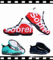 ball fabric - 2017 Newest Mens Basketball Shoes Penny Hardaway Foamposites Galaxy High quality Foamposites Basket Ball Running Shoes Sneakers US8