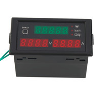 ac high voltage tester - High QAC80 V A Digital LED Current Voltage Tester Meter Electric Energy Power Factor Detection with CT
