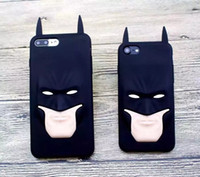 batman cell phone case - For Iphone Plus plus G I7 Iphone7 S plus D Batman Soft Case D Cartoon Hero Silicone gel Rubber Jelly Cell phone Skin Cover Luxury