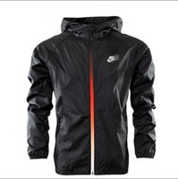 Cheap High quality jacket in the spring and autumn clothes for men and women windbreaker coat sweater coat black 3 xl