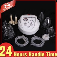 beauty development - Big Discount Vaccum Pump Therapy Breast Lifting Massage Body Care Breast Enhancement Development Beauty Equipment for Home or Spa Use