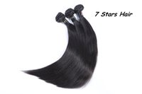 Wholesale 100 Human Hair Weave Weft Unprocessed A Cheap Brazilian Peruvian Malaysian Indian Straight Hair Extensions or Hair Bundles