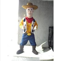 adult woody costume - Anime cosply Costumes Happy Woody Cowboy mascot Adult Toy Story Theme Custom Carnival Fancy Dress Cartoon Party Outfits SW1620