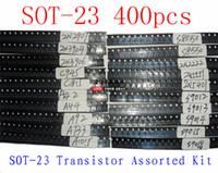 assorted transistors - SOT Transistor Assorted Kit C1815 A1015 A42 A92 C945 A733