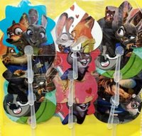 Wholesale Cute cm Zootopia frozen avengers Plastic hand Fan Cartoon Hand Fan Summer Accesory For Girls Children s Gift wholesales