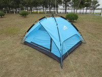 Wholesale 3 Person Outdoor Tent Camping Tent Full Automatic Outdoor Dinner Tent Export Quality