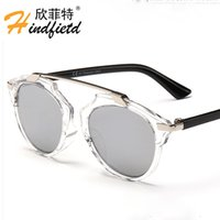 Cheap New Fashion Stylish Cool Boys Girls Sunglass Anti UV woman man Sun glasses Color film sunglasses Free Shipping C1399