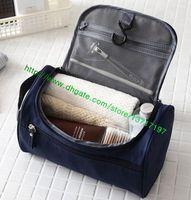 Wholesale Top Grade Black Plaid Real Leather Men TOILETRY POUCH N47625 Fashion Designer Clutch Bag