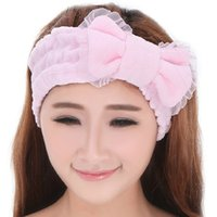 asian towels - Korean Manufacturers Selling Towel Brulee Hair Band Explosion Butterfly Hair Bundle Hair Towel Washing And Dressing Headband