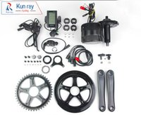 Wholesale DHL Ba fang BBS02B V500W Electric Bicycle Motor Mid Drive Ebike Kit C965 LCD Display With Brake Sensor