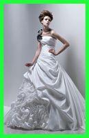 wedding dresses 2011 - Custom Made online and retail taffeta ballgown wedding dress collection Freida HuangLong