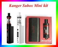 Wholesale Kanger subox mini clone E cigarette Kits W kanger subox mini starter kit vs kanger subox nano kit