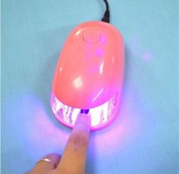 Wholesale 3W nail dryer lamp ABS mouse shaped led nail dryer for gift Professional factory supply Mini mouse shape UV led nail lamp