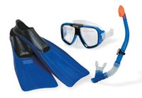 Wholesale Water Sport Series Reef Rider Combination Set Hot Summer New arrival flippers mask goggles breathing tube assembly