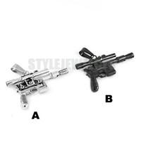 Wholesale Silver Biker Necklace - Free shipping! New Silver Black Sniper Rifle Pendant Stainless Steel Jewelry Fashion Cool Gun Motor Biker Men Pendant SWP0366B