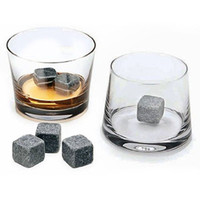 alcohol champagne - Natural Whiskey Stones Sipping Ice Cube Wine Champagne Whisky Rock Cooler Bar Alcohol Beer Wedding Gift