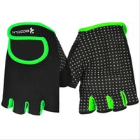 Wholesale Multicolor fitness gloves Men s and women s summer breathable wear weight lifting the dumbbell training sports gloves HK72