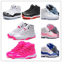 athletic lady shoes - Legend Blue Basketball Shoes XI Good Quality Sports Shoes Women Ladies Trainers Athletics Boots Retro XI Sneakers Cheap