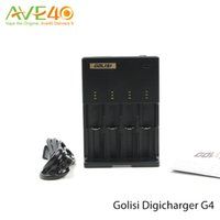 battery charger trickle - Original Battery Charger Golisi Universal Intelligent Digicharger G4 Color LED Displays CC CV and Trickle Charge
