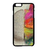 apple brain - PAINT BRAIN left right brain fashion cell phone case for iphone s s c s plus