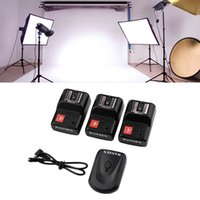 Wholesale Hot New PT GY Channels Wireless Radio Flash Trigger SET with Receivers