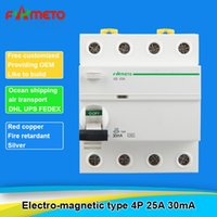 Wholesale Cheap iID P A mA V Residual current circuit breaker Electro magnetic type RCCB OEM FE05