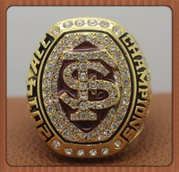 acc ring - For Florida State FSU Seminoles ACC National Championship Ring Gold Plated World Series Alloy Rings