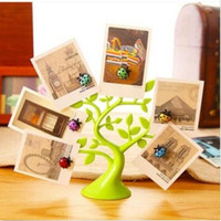 Wholesale Creative Beetles Fridge Magnet Lucky Tree Message Board Memo Clip Decoration