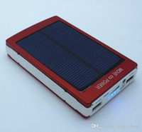 Wholesale Top selling mah Solar Charger Power Bank mAh New Portable Charger Solar Battery External Battery Charger Powerbank