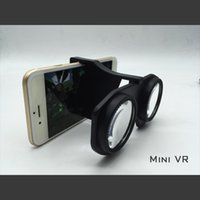Wholesale New Original VR Mini Virtual Reality D Glasses VR BOX Headset For Smartphone iPhone S Plus SE With Retail Package