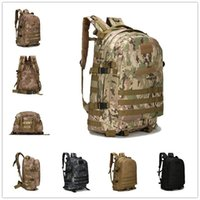 Wholesale 40L Multi Color D Outdoor Waterproof Trekking Tactical Backpack Camping Military Sports Rucksacks Backpacks Classic Bag