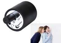 audio amplifer - Wall Audio Spy Bug Voice Listening Monitor Device Through Door Wall Cylinder Listening Amplifer with EU US Charger in Retail Box