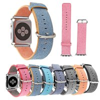 al por mayor nylon watch strap sport style-Nueva Sports Royal Woven banda de pulsera de nylon para Apple Watch Sport Style 38 mm 42 mm