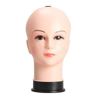Wholesale Real Female Mannequin Head Model Wig Hat Jewelry Display Cosmetology Manikin BS