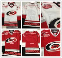 authentic names - All Star Carolina Hurricanes Ice Hockey Jerseys Cheap No Number Name Blank Jersey Authentic White And Red Stitched Jerseys Mix Order