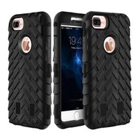 apple tire - Armor silicone TPU phone case for iPhone s plus tire rugged three Layer Defender Heavy Duty Hybrid Phone Case Cover