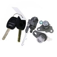 Wholesale Original Whole Types Honda CIVIC Lock Cylinders Set With Keys applied directly to Honda Lock change directly Auto Tools Parts