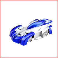 Wholesale RC WALL CLIMBER CAR Remote Control Wall Floor Climbing Racing Cars Toy Blue Red Black Electric toys