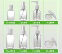 bags spray bottle - Portable Wash Cosmetic Spray Travel Refillable Spray Atomizer Empty Perfume Bottles Transparent Pump Spray Jar Container Bag