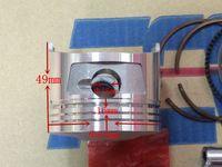 Wholesale Motorcycle piston and ring CB cc LONCIN cc piston ring sleeve plug for piston pin piston diameter mm mm four stroke