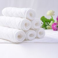 Wholesale 5pcs pack baby Changing Mat white Layer cotton boys girls Diaper kids Diapers Cover newborn pad